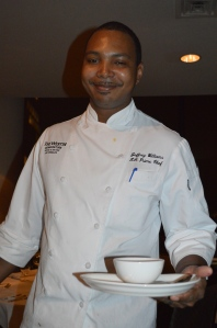 Talented chef Jeffrey Williams
