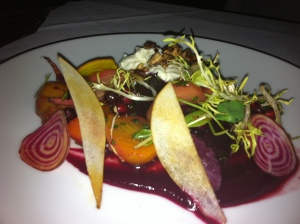 Exquisite appetizers at Whisper Restaurant and Lounge