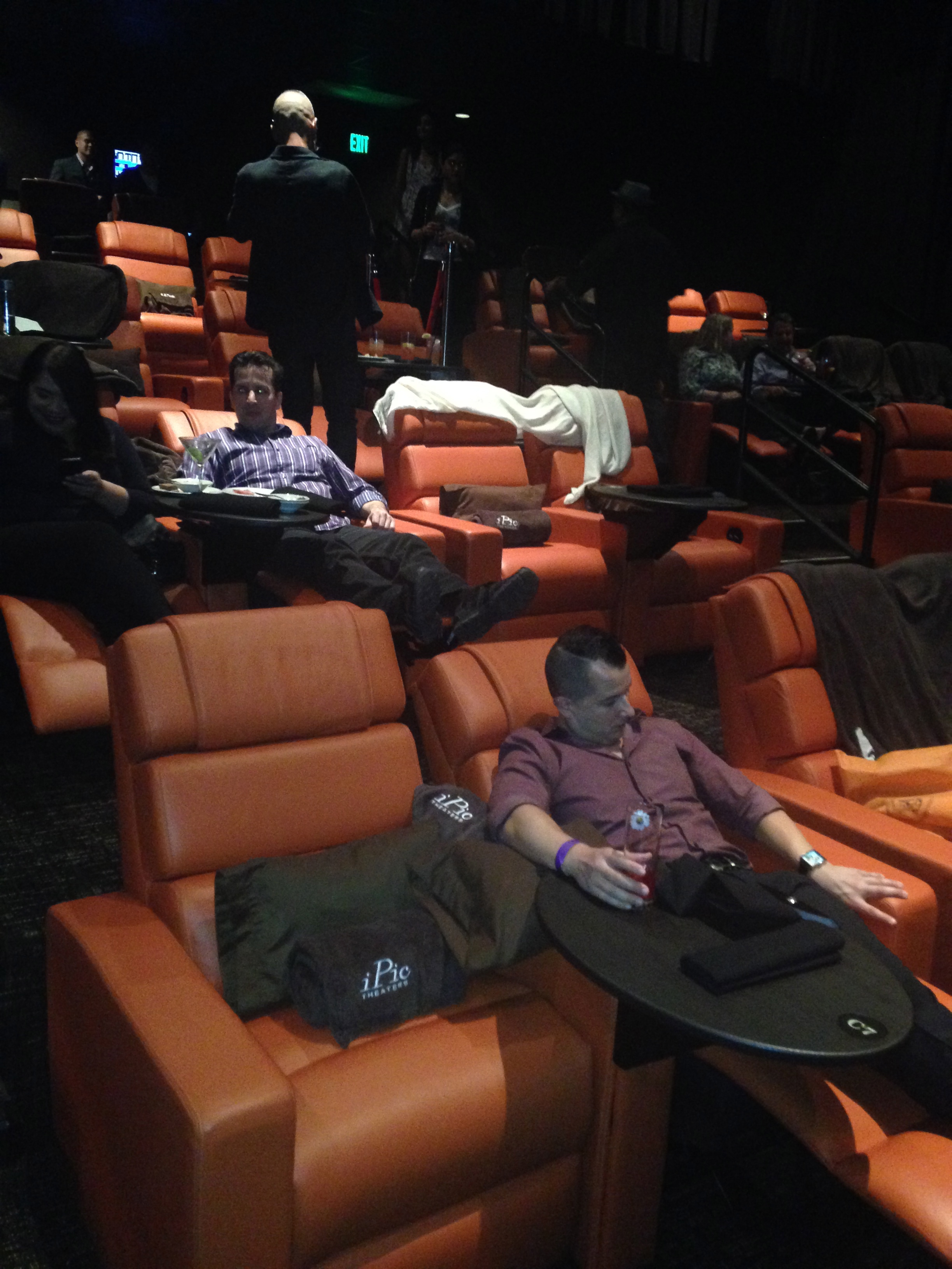 a new way to watch a movie dine travel entertainment