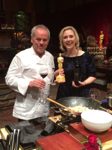 Wolfgang Puck and Alison Rodriguez from Sterling Vineyard