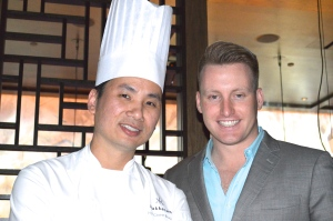 Executive Chef Ho Chee Boon and General Manager Jordan Ogron