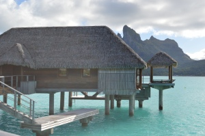 Over water bungalow with plunge pool - by Jill Weinlein