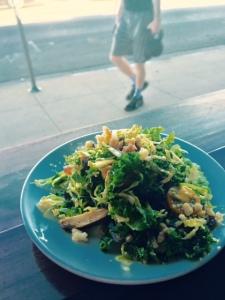 Chopped salad - photo by Jill Weinlein)