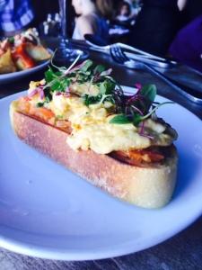(Uni toast - Photo by Jill Weinlein)