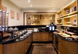 (Club 91 kitchen - photo courtesy of Marriott)