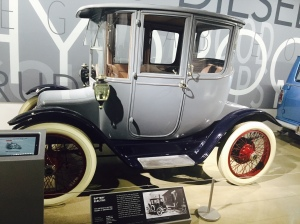 (1915 Battery Electric 61 Brougham went 20 MPH - Photo by Jill Weinlein)