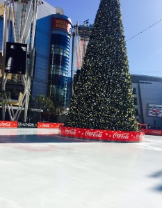 Ice Rink at L.A. LIVE