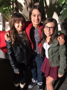 (Nickelodeon Stars -Maddie Shipman, Rio Mangini and Cree Cicchino)