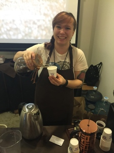 Peet's Coffee Barista Trainer Melanie - Photo by Jill Weinlein