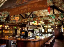 Interior of the bar.