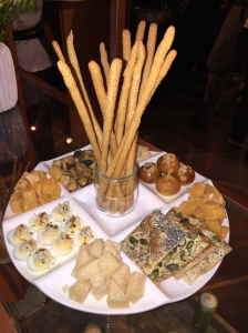 Appetizers served at your Oscars Party - Photo by Jill Weinlein