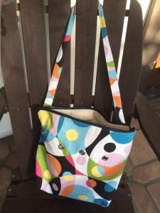 Colorful yarn or beach bag - Photo by Jill Weinlein