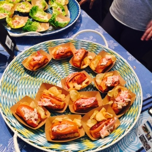 (Lobster Rolls from Blue Plate - Photo by Jill Weinlein)