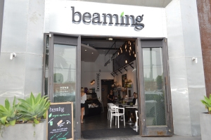 Beaming (photo by Jill Weinlein)