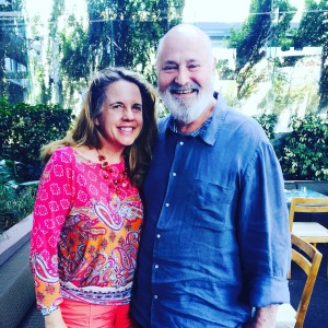 (Celebrity Rob Reiner with writer)