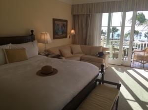 Comfortable beds at the Montage Laguna Beach