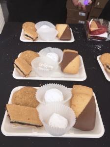 Kelley's Kookies - Melting Moments - Chocolate dipped & lemon shortbread