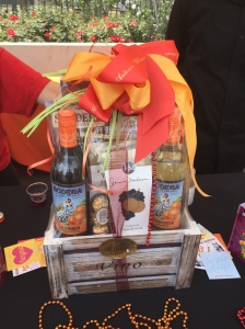 San Anotonio Winery basket went to one lucky winner - photo by Jill Weinlein