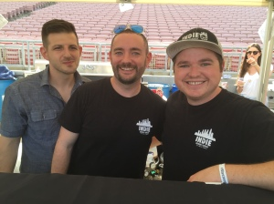 (Happy guys from Indie Brewing Company - photo by Jill Weinlein)