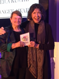 Honorable Sheila Kuehi and  Fascinating Lily Tomlin - Photo by Jill Weinlein