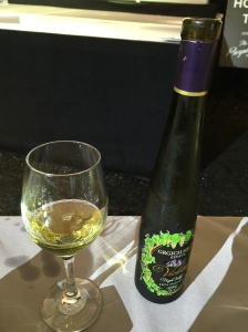 (Grgich late-harvest wine is a perfect pairing for Gale's tea cake - Photo by Jill Weinlein)