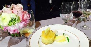 (Chef Gale Gand's dessert - photo by Jill Weinlein)