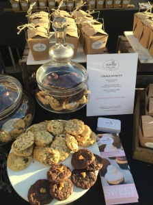 (An array of beautiful, soft and pleasing cookies by Vanilla Bake Shop- Photo by Jill Weinlein)