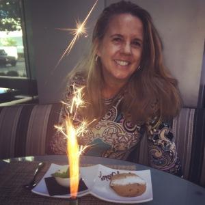 (Photo of writer taken at BOA Steakhouse)