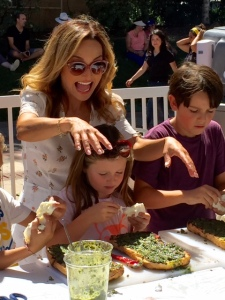Celebrity Chef Giada has a restaurant in Las Vegas. Photo by Jill Weinlein