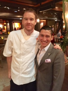 Executive Chef Larry Greenwood and General Manager Mario