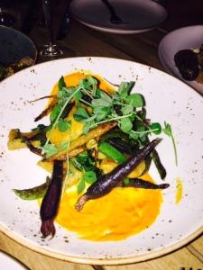 Elegant peas & carrots - photo by Jill Weinlein