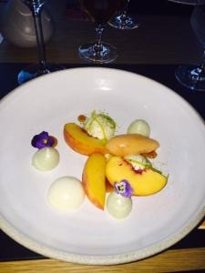 Elegant dessert photo by Jill Weinlein