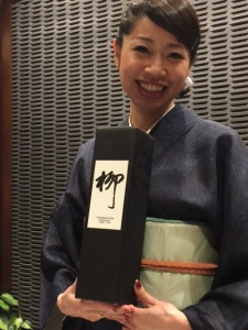 Special Sake  presented by Mio Okura - photo by Jill Weinlein