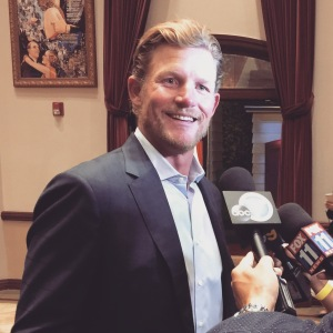 LA Rams General Manager Les Snead - Photo by Jill Weinlein