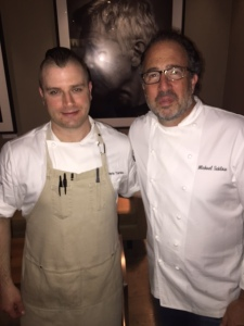 Chefs Chris Turano and Michael Schlow - Photo by Jill Weinlein