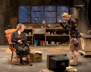 L-R: Marie Mullen and Aisling O'Sullivan in the Druid production of
