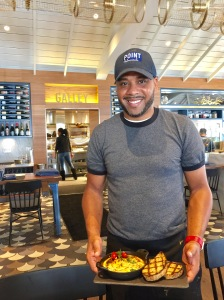 Chef Andre Brown - Photo by Jill Weinlein
