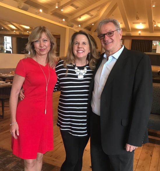 Kristin Karst, me and Rudi Schreiner