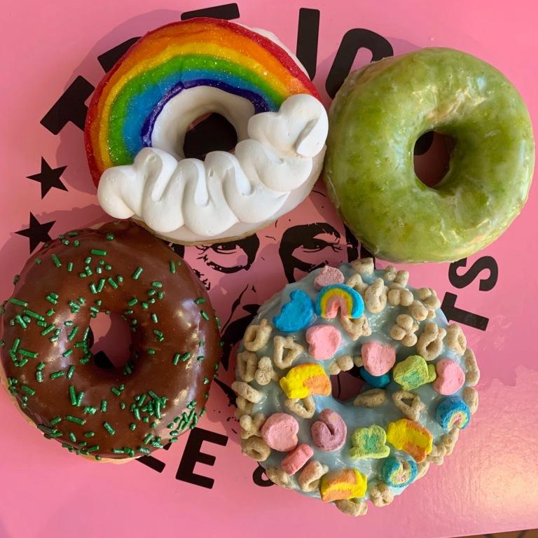 St. Patricks Day Donuts